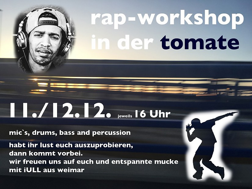 Rap-Workshop in der Tomate (Flyer)